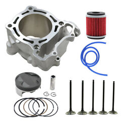 For Yamaha Yz250f Wr250f 2001-2013 Cylinder Piston Rings Valves Filter Std 77mm