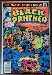 Black Panther #1 Jack Kirby 1977 Ungraded SEE PHOTOS FOR CONDITION