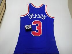The Philadelphia 76 Ers In The Nba Answer Iverson Autograph Throwback Jerseys Ba