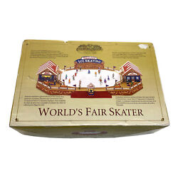 Mr. Christmas Gold Label Collection Worldand039s Fair Skater As Is See Video