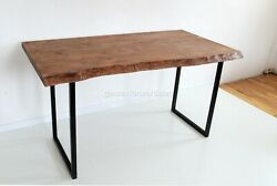 Dining Table Top Oak Wood Acacia Handcrafted Collectible Living And Kitchen Dandeacuteco
