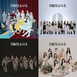 Monthly Girl Loona 4th Mini Album [and] 4ver Set Cd+book+3p Card+sticker+calendar
