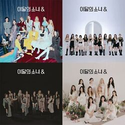 Monthly Girl Loona 4th Mini Album [and] Cd+book+3p Card+sticker+calendar+f.poster