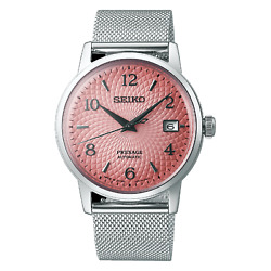 Seiko Presage Cocktail Srpe47 Srpe47j Automatic Tequila Sunset Pink Limited Mens