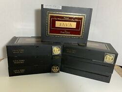 Java By Drew Estate Empty Cigar Boxes Lot Of 8