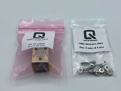 Wr-28 Waveguide Junction Ferrite Isolator Gold Plated