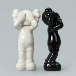 Kaws Holiday Uk Ceramic Black And White Containers Set Edition Of 1000