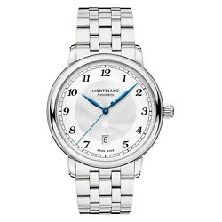 Watch Star Legacy Automatic Date Man Woman Accessories Silver 42mm
