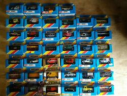 Job Lot Of 40 Matchbox Cars From 1980 Series, All Boxed,vintage,old.