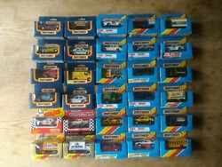 Job Lot Of 35 Boxed Matchbox Cars,from 70-80`s,vintage,all Cars Mint/vgc.