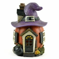 Miniature Fairy Garden Led Color Change Halloween Witch Hat House-buy 3 Save 5