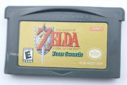 The Legend Of Zelda A Link To The Past Four Swords Gameboy Advance