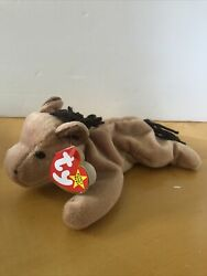 Ty Derby Rare Ty Beanie Baby Original 1995 With Errors And Pvc Pellets
