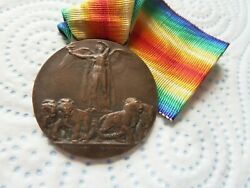 Italian Interallied Victory Medal 1918 First World War Wwi Italy Kingdom