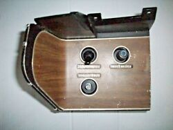 1970 Dodge Challenger/plymouth Barracuda Rally Dash Switch Panel