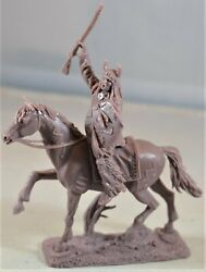 Publius Mounted Sioux Indian Warrior With Horse Native American