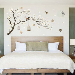 Flower Tree Wall Stickers 3D Vinyl Art Decals Home Room Decoration Decoration *s
