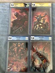 Rare Absolute Carnage Virgin Variant Lot All Cgc 9.8 1-ss 3x 5-ss 2x Look