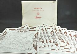 15 Vtg Iroquois Beer Five Nations Paper Placemats Envelope