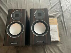 Monitor Audio Gold 100 Wired Bookshelf Speakers - Walnut - Excellent Condition