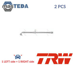 2x Trw Rear Brake Hose Line Pipe Phd1066 I New Oe Replacement