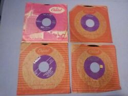 4 Frank Sinatra 45and039s Chicago / Nice N Easy / Love And Marriage / Mistletoe And Holly