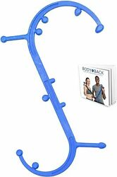 New Body Back Buddy Elite Back Massager, Full Body Muscle Pain Relief Blue