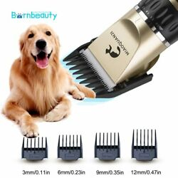 Pet Grooming Hair Clipper Kit Professional Dog Hairdresser Rechargeable Animal