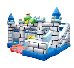 20x20x12 Commercial Inflatable Castle Slide Bounce House Obstacle Course Combo