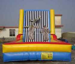 Sticky Wall Game Bounce Castle Jumping Inflatable Slide Trampoline We Finance