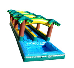 35x10x10 Commercial Inflatable Water Slide Bounce House Obstacle Course Combo