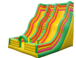 25x10x15 Commercial Inflatable Water Slide Bounce House Obstacle Course Combo