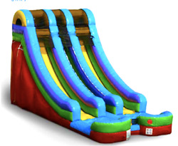 25x15x20 Commercial Inflatable Water Slide Bounce House Obstacle Course Combo