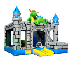 20x20x15 Commercial Inflatable Castle 5 In1 Water Slide Bounce House Combo Party