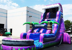 35x15x20 Commercial Inflatable Water Slide Obstacle Course Bounce House Castle
