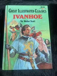 Great Illustrated Classics Ivanhoe By Sir Walter Scott Hardcover