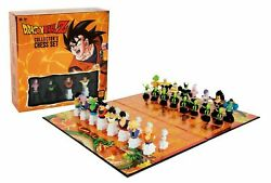 Dragon Ball Z Collectors Chess Set Dbz New Sealed Authentic Ship Fast