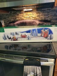 Department 56 North Pole Series Loading The Sleigh 52732 Animated Set/5