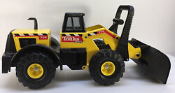 Vtg 1999 Tonka Mighty Front End Wheel Loader 728 Toy Pressed Steel And Plastic 23
