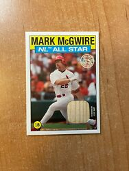 2021 Topps Series 2 - Mark Mcgwire - 1986 Topps All Star Relic Cardinals