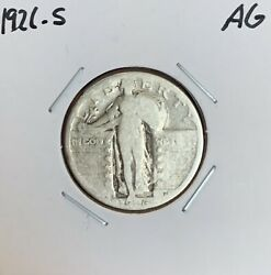 1926-s Standing Liberty Quarter - Ag - About Good - 90 Silver