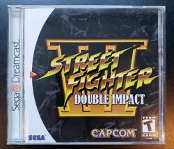 Street Fighter Iii Double Impact Dreamcast Complete Cib Excellent Condition