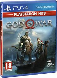 God of War Playstation 4 PS4 PS5 Sony Fighting Survival Free Shipping