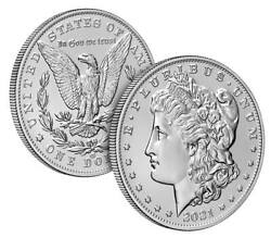 Pre-sale 2021 Morgan Silver Dollar With Cc Privy Mark 100th Anniversary Sold Out