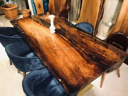 Handmade Wooden Collectible Conference Center Table Top Hallway Dandeacutecor Furniture