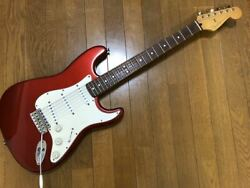 Fender Stratocaster St62 Candy Apple Red 6 String Electric Guitar Made In 1997