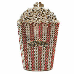 Popcorn Women Crystal Evening Bags and Clutches Ladies Party Purse and Handbag $55.99