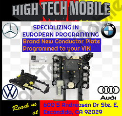 Brand New Mercedes S-class 7g 722.9 Conductor Plate Programmed To Car 2004-2015