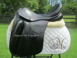 18 County Perfection Dressage Saddle-short Flaps-wide/ Extra Wide Tree+ Cover