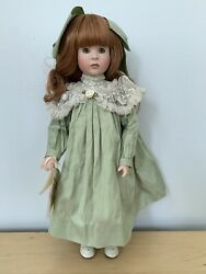 Anna Marie Doll By Wendy Lawton 15/100 14 Porcelain And Wood